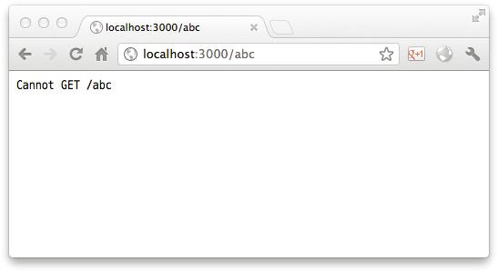第五章 使用Node.js进行Web开发