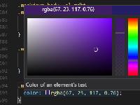 Visual Studio Code 对 CSS / Sass / Less 的支持