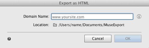 选择要用来存储导出的文件的所需文件夹位置