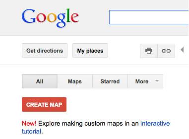 """单击""""创建地图"""""""