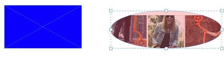 矩形和椭圆图像框架