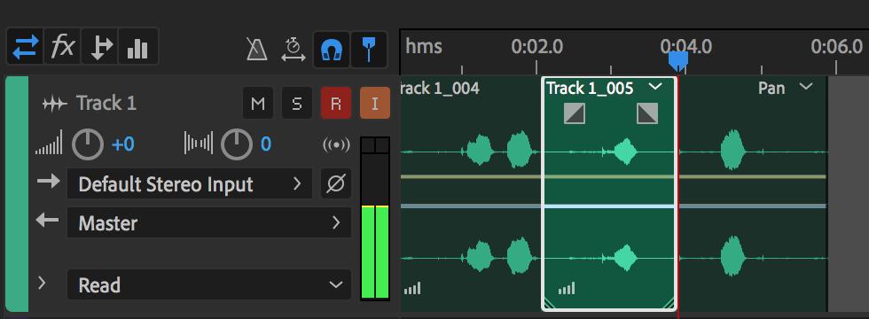 使用 Adobe Audition 录制和编辑音频文件