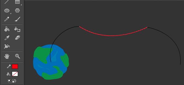 在 Animate CC 中创建定义路径