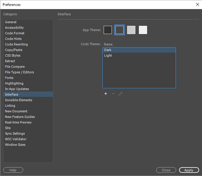 了解如何在 Dreamweaver 中自定义代码元素的颜色。