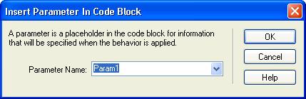 在 Dreamweaver 中添加自定义服务器行为