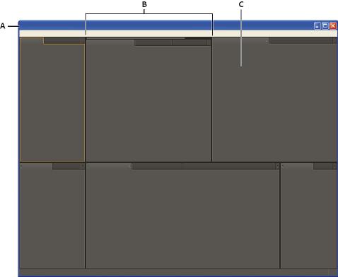 After Effects 中的工作区、面板和查看器
