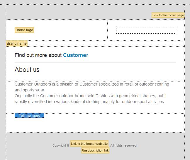 配合使用 Dreamweaver 和 Campaign 即可创建和设计个性化的电子邮件营销活动
