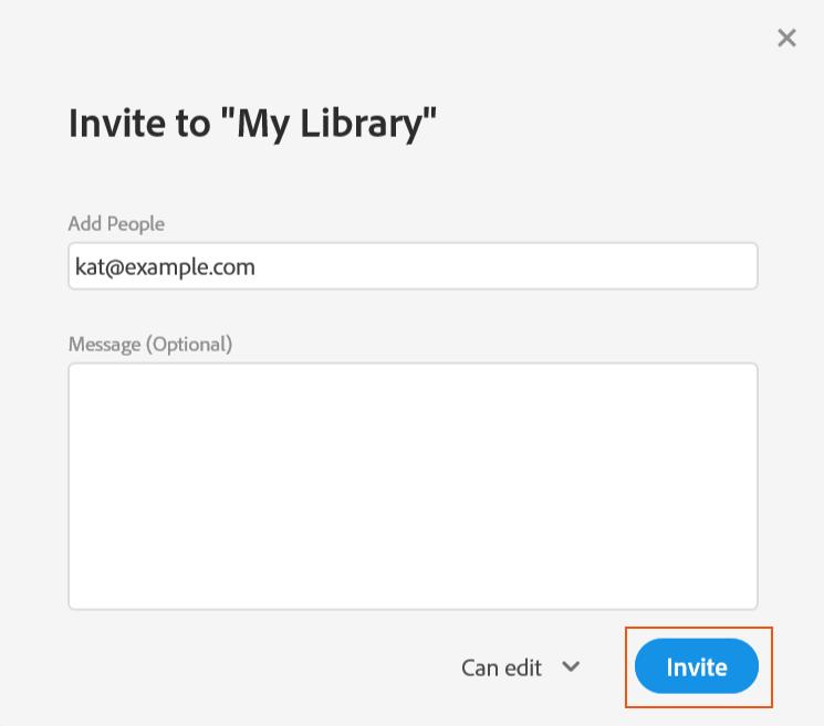通过 Creative Cloud 帐户协作使用文件夹和资料库