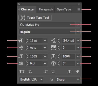 如何在 Illustrator 中设置文字格式