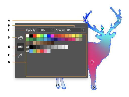 在 Illustrator 中创建渐变