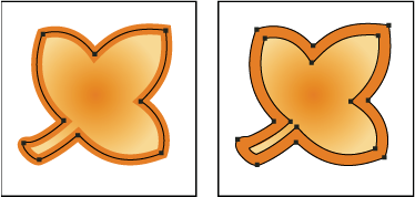 如何在 Illustrator 中编组和扩展对象