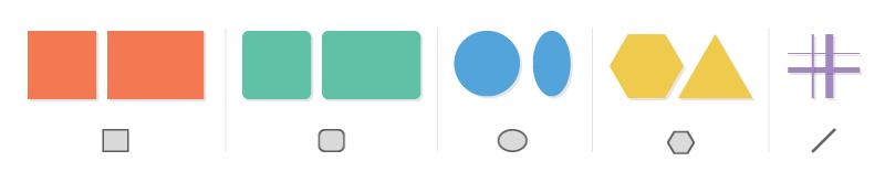 如何在 Illustrator 中创建和修改实时形状