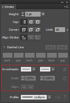 如何在 Illustrator 中应用描边