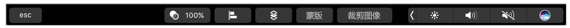 了解如何在 Illustrator 中使用 MacBook Pro Touch Bar。