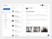 MailBox 邮件客户端界面 聊天界面 UI 设计分享