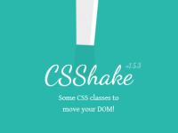 CSShake 使用 CSS3 实现各种抖动效果