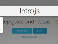 Intro.js 为您的应用程序添加交互式访问文档